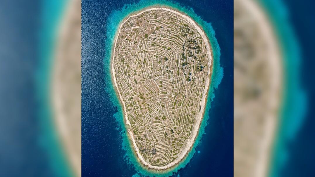 Wyspa, która wygląda jak odcisk palca