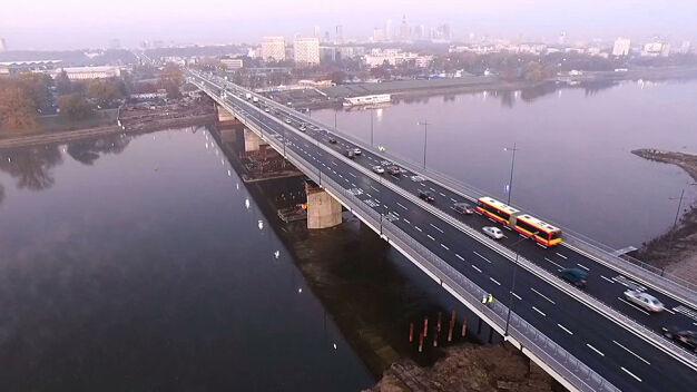 Most Łazienkowski otwarty