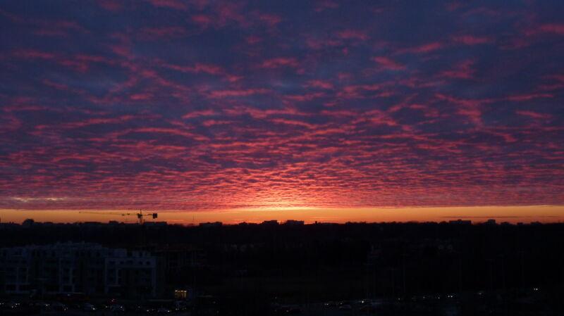 Wtorkowy zachód słońca (chester)