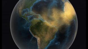 Pył znad Sahary pokonał Atlantyk i zawędrował nad Amazonię