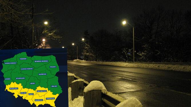 Niebezpieczne zjawiska pogodowe <br />na południu Polski
