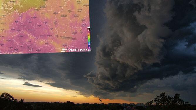 Pogoda na 5 dni: burze, grad, porywisty wiatr, możliwe trąby powietrzne
