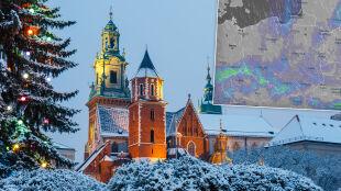 Pogoda na Boże Narodzenie. Święta z opadami śniegu, deszczu ze śniegiem i deszczu