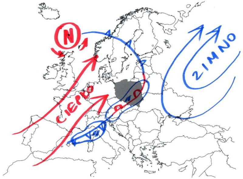 Jak rysuje się pogoda w Europie?