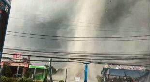 Gwałtowna pogoda w Tajlandii